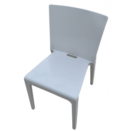 Chaise Polypro Gris Perle