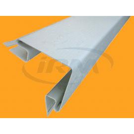 Angle de bardage extérieur blanc Lg 2400