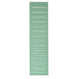 Volet déco persienne VERT CLAIR 1092x281