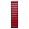 Volet déco persienne ROUGE 1092x281