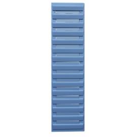 Volet déco persienne BLEU CLAIR 1092x281