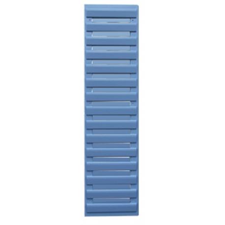 volet d co persienne bleu clair 1092x281 visserie comprise. Black Bedroom Furniture Sets. Home Design Ideas