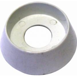 Bague de bouton four blanc