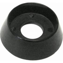 Bague noire pour bouton four