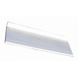 Plinthe Blanche plastique Haut 65mm Lg 3,00 ml