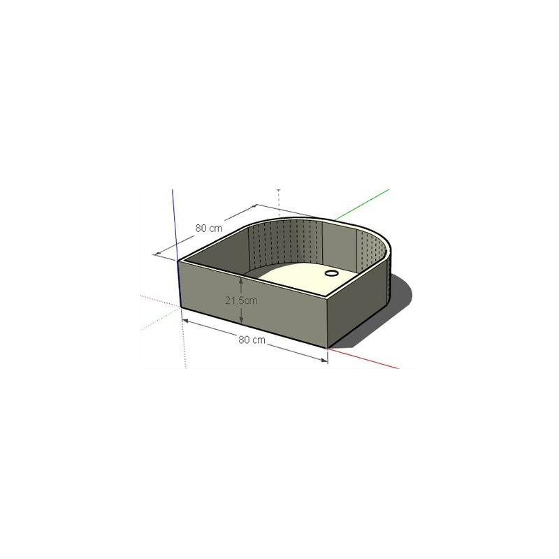 bac douche 2004 2012. Black Bedroom Furniture Sets. Home Design Ideas
