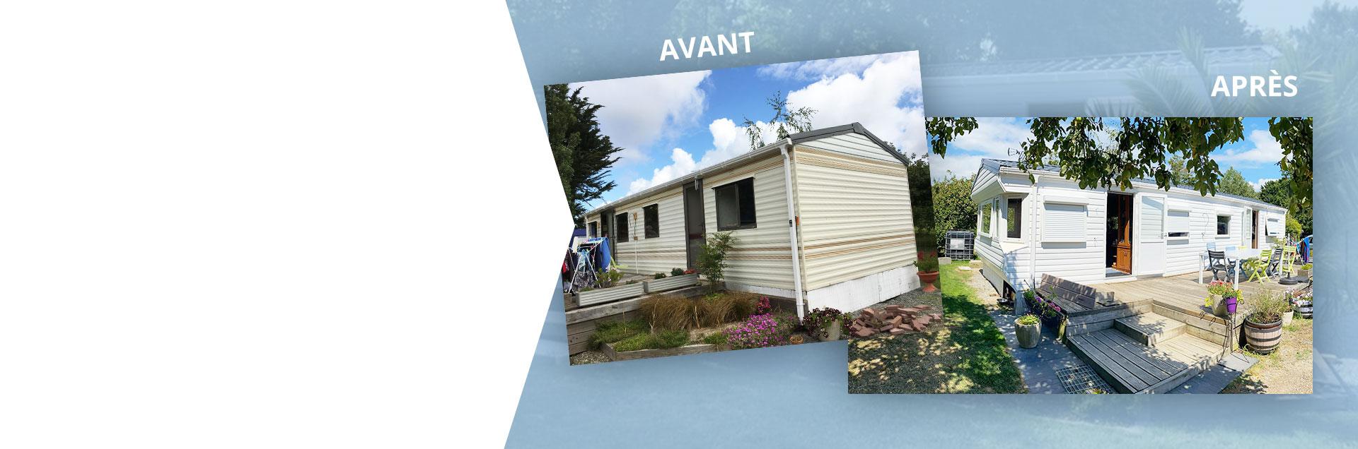 Rénovation de mobile home