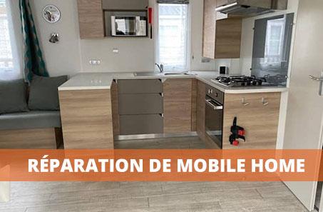 réparation de mobile home